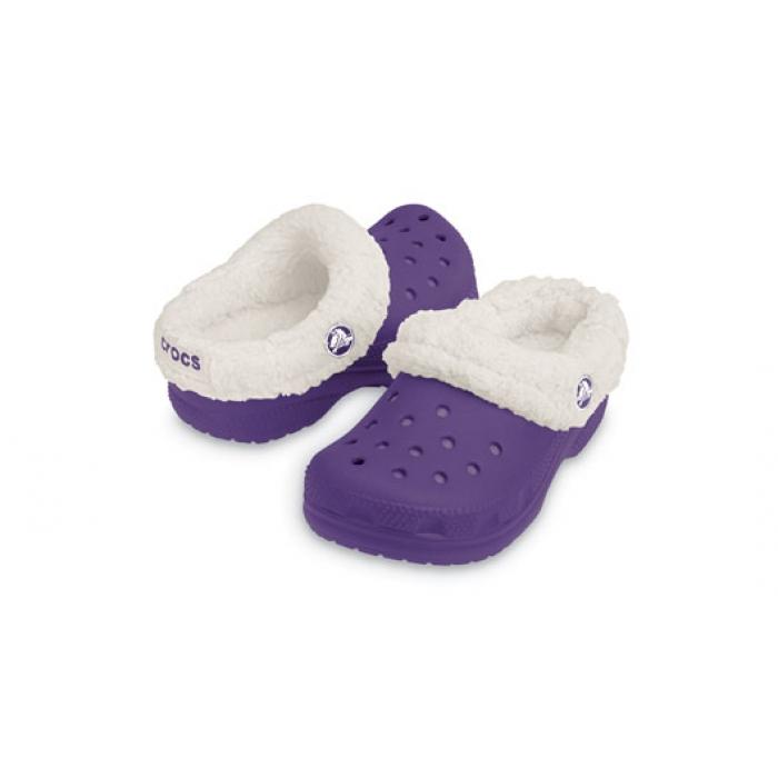 Crocs Kids Mammoth 31-32 (J1) / Grape/Oatmeal