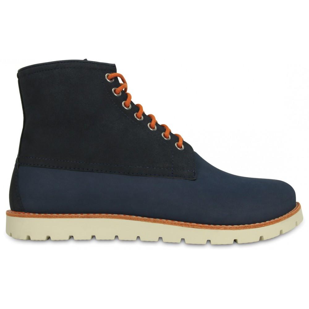 Crocs Cobbler 2 Boot 41-42 (M8) / Navy/Stucco