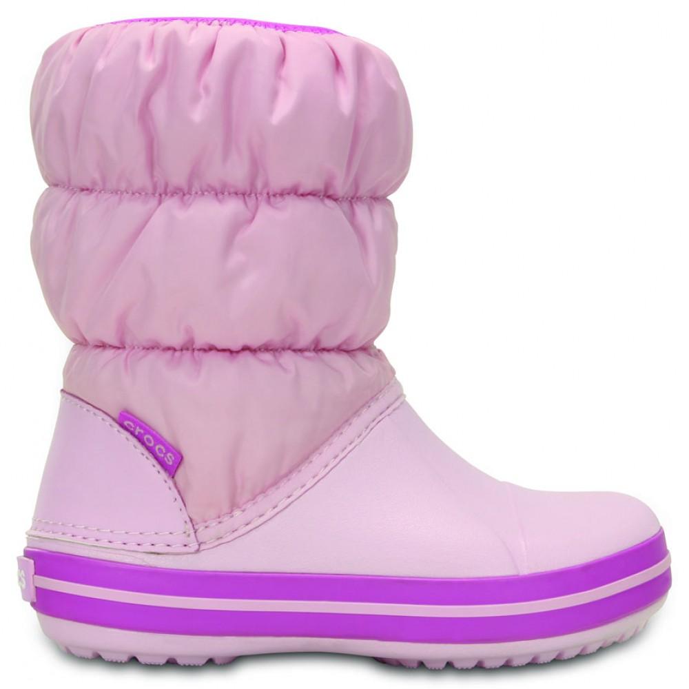 Crocs Winter Puff Boot Kids 23-24 (C7) / Pink/Wild Orchid