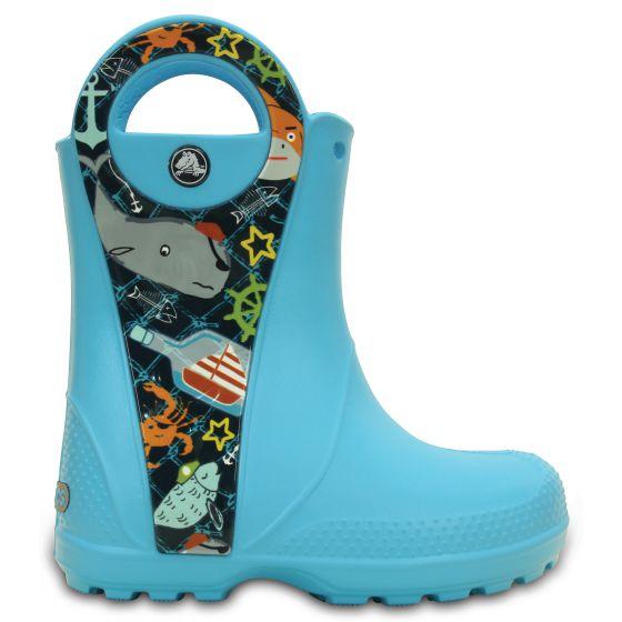 Crocs Handle It Sea Life Boot 23-24 (C7) / Electric Blue