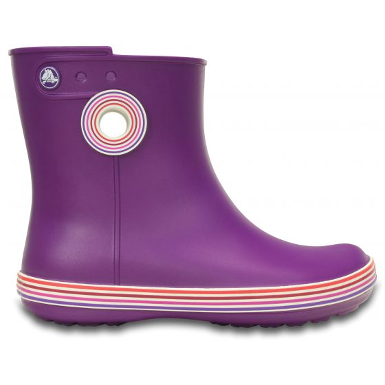 Crocs Jaunt Stripes Shorty Boot 36-37 (W6) / AMETHYST/ROYAL PURPLE