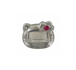 Crocs Jibbitz Hello Kitty Silver LE 12