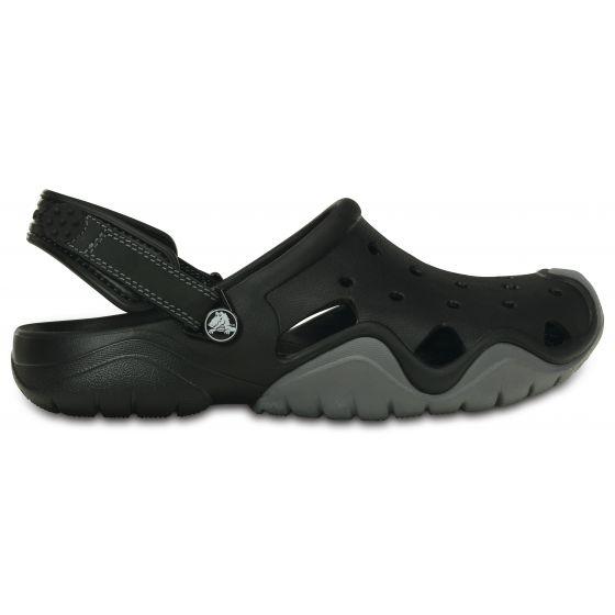 Crocs Swiftwater Clog 41-42 (M8) / Black/ Charcoal