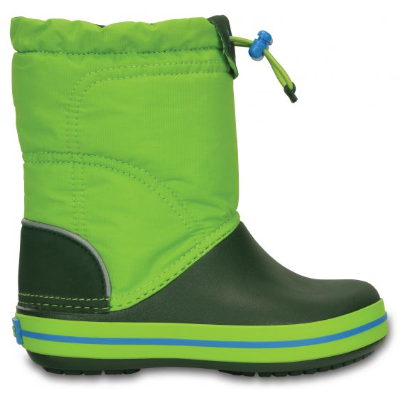 Crocs Crocband LodgePoint Boot 33-34 (J2) / Lime/Forest