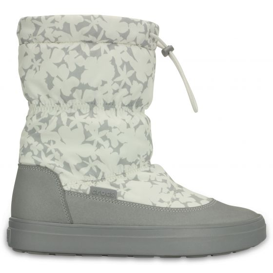 Crocs LodgePoint Pull-on Boot 37-38 (W7) / Oyster