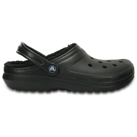 Crocs Classic Lined Clog 37-38 (M5/W7) / Black