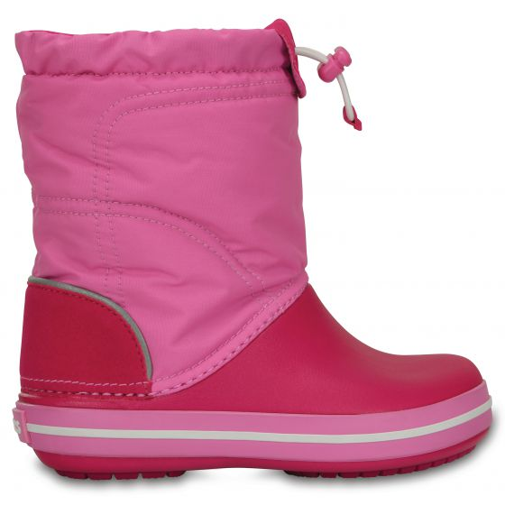Crocs Crocband LodgePoint Boot 33-34 (J2) / Candy Pink/Party Pink