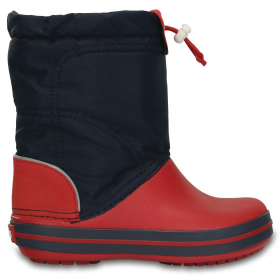 Crocs Crocband LodgePoint Boot 33-34 (J2) / Navy/red