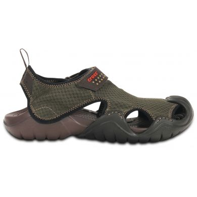 Crocs Swiftwater Sandal 46-47 (M12) / Espresso/Espresso