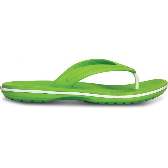 Crocs Crocband Flip 44-45 (M11) / Volt Green/White