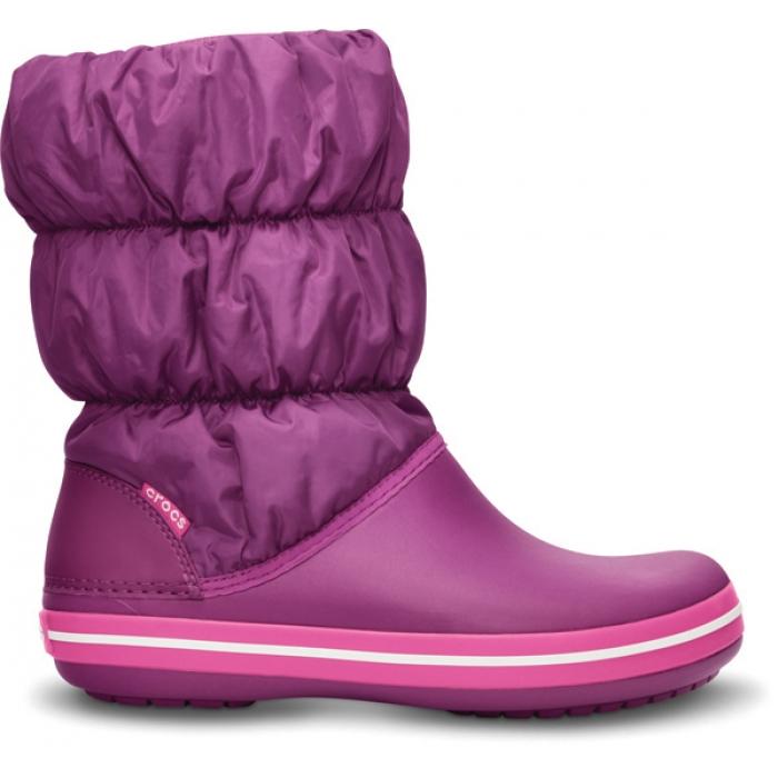 Crocs Winter Puff Boot Women 36-37 (W6) / Viola/Fuchsia