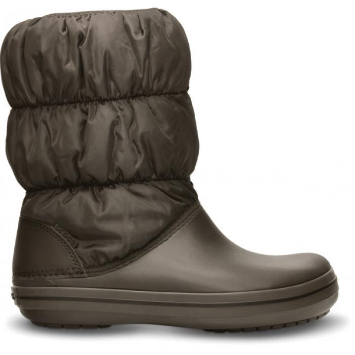 Crocs Winter Puff Boot Women 36-37 (W6) / Espresso/Espresso