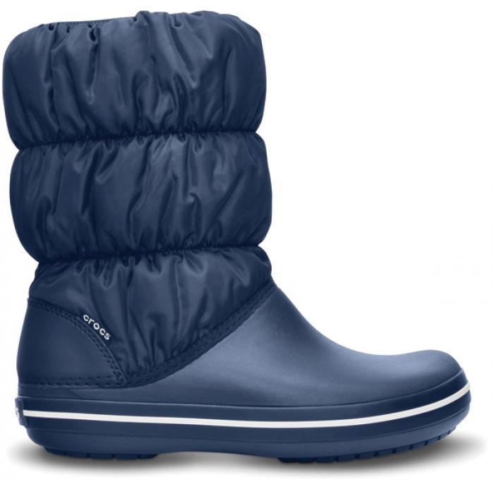 Crocs Winter Puff Boot Women 36-37 (W6) / Navy/Navy