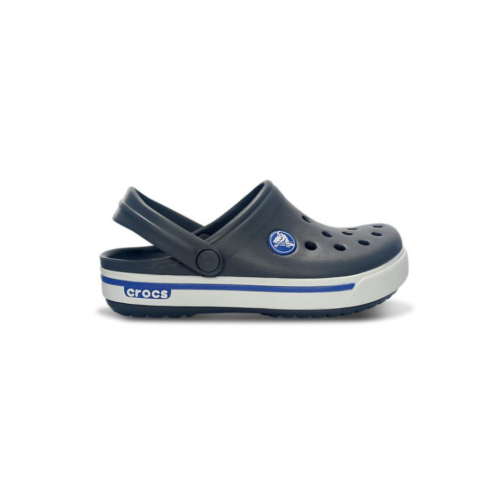 Crocs Crocband™ II.5 Kids 23-24 (C6/C7) / Charcoal/ Sea Blue