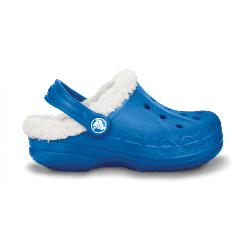 Crocs Baya Lined Kids 22-24 (C6/C7) / Sea Blue/Oatmeal