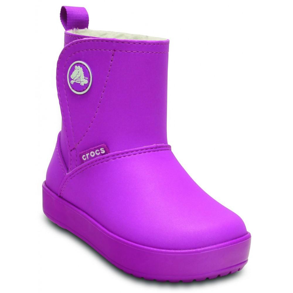 6c25a7f7087 Crocs ColorLite Snug Boot Kids